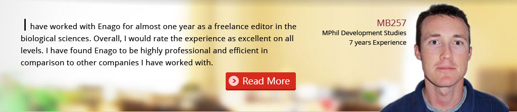 Careers at Enago: Editor testimonial, editing jobs